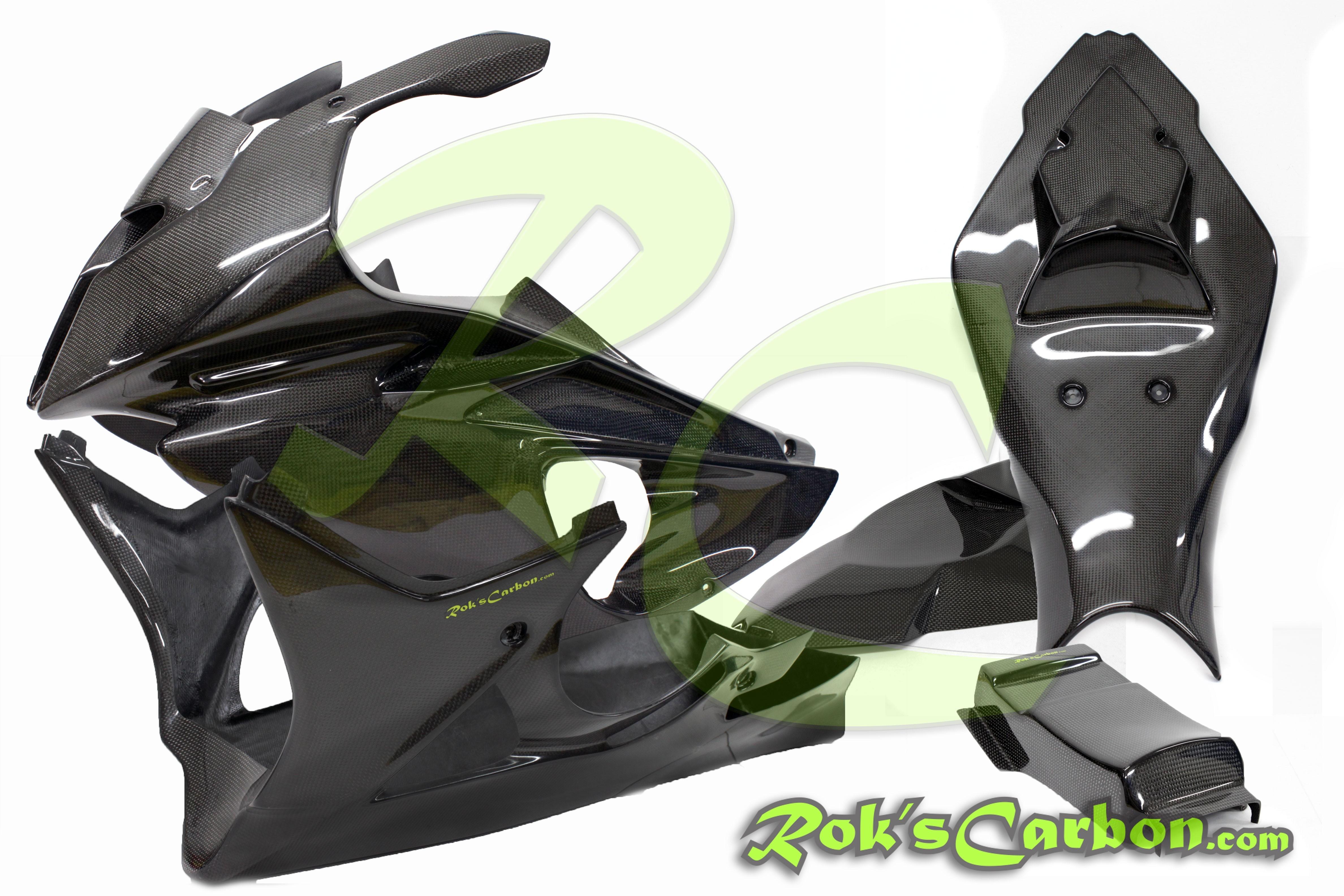 2009 2014 Bmw S1000rr Plain Hp4 Carbon Fiber Racing Belly Pan